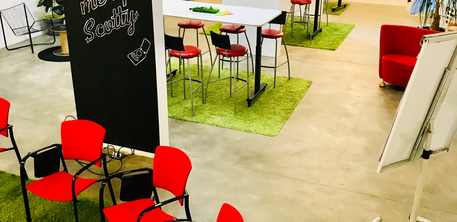 Break out Areas im Workshop Space