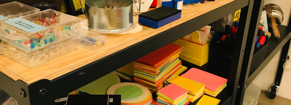Prototype Material in jedem Workshopraum verfügbar