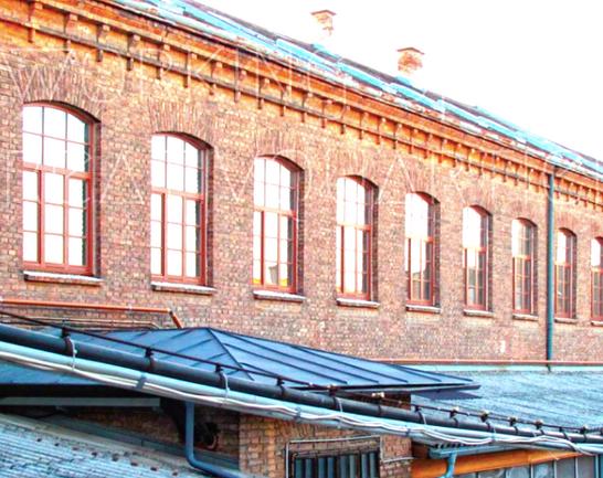 Alte Klavierfabrik in Atzgersdorf