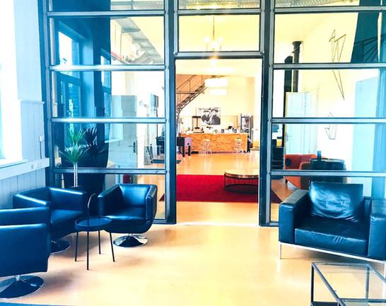 Red carpet @Coworkingloft