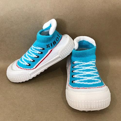 L - Blue Ankle Sneaker