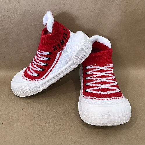 L - Red Ankle Sneaker