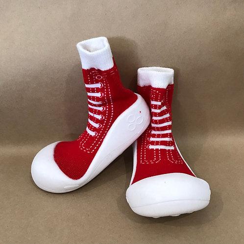 XL - Red Sneaker Sock