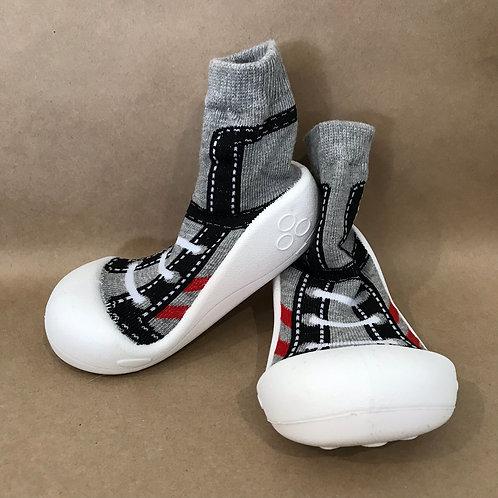 M - Grey Sneaker Sock
