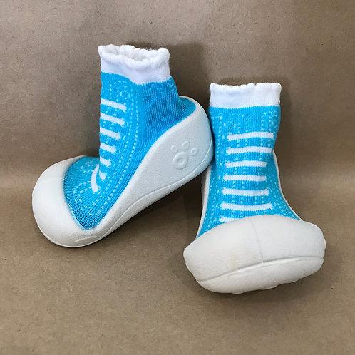 XS - Sky Blue Sneaker Sock