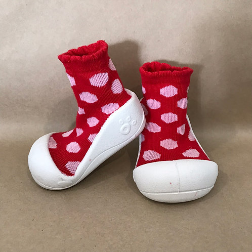 XS - Red and White Polka