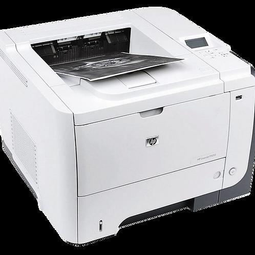 Impresora HP Printer LJ P3015N Monocromática