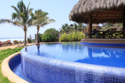 Infinity pool at Tres Mujeres