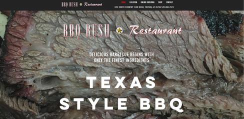 BBQ Rush Website