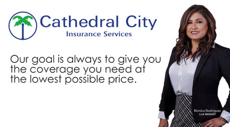 Cathedral City Insurance Facebook Ad