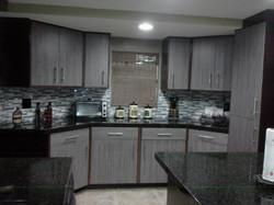 kitchen remodel finish