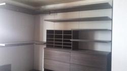 closet organizer install