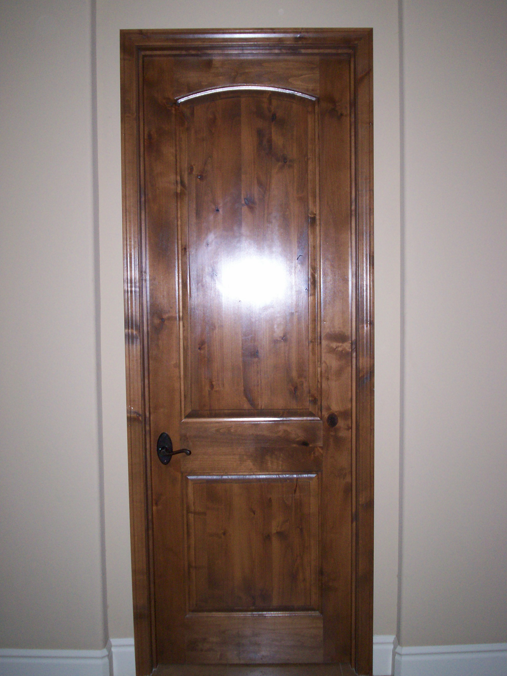 interior Alder door replacement inst