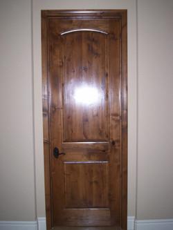 interior Alder door replacement inst