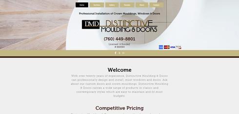 Distinctive Moulding & Doors Website