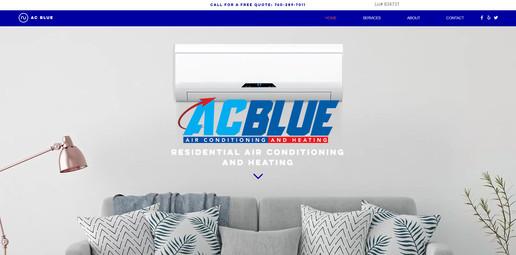 AC Blue Website