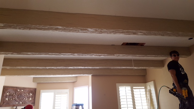 false beams install job