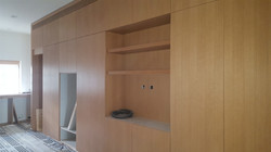 wall cabinet install