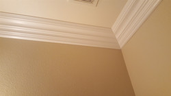crown molding job install