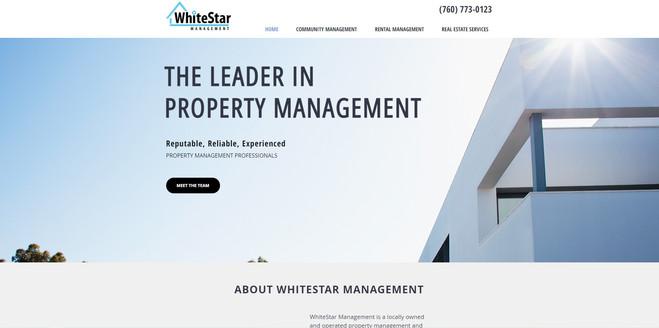 WhiteStar Property Management Website
