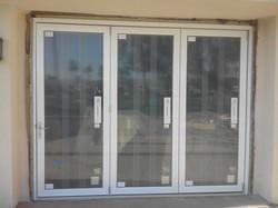 exterior bi-fold doors install