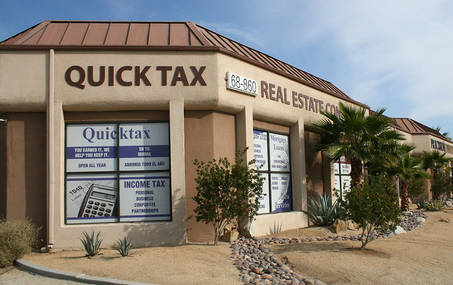 Quick Tax - Cathedral City