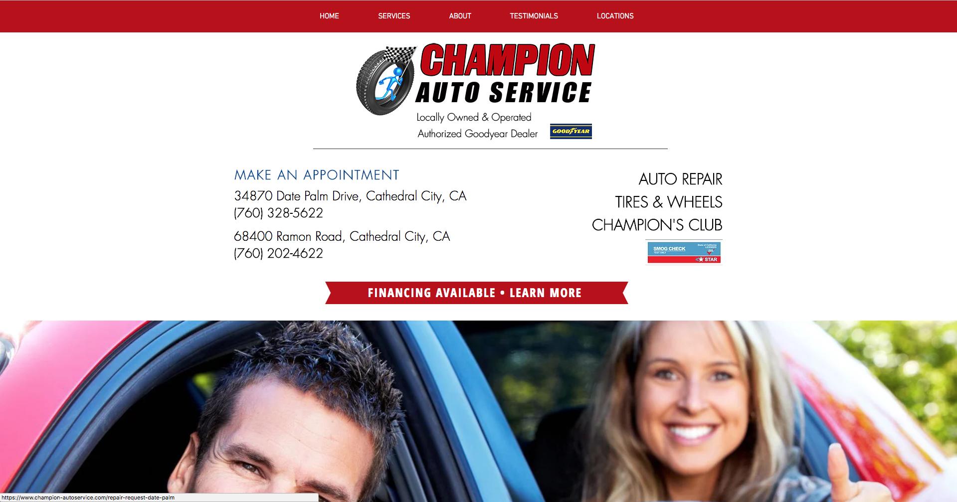 Champion Auto Service - Cathedral Ci