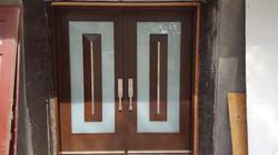front door install and Hardware