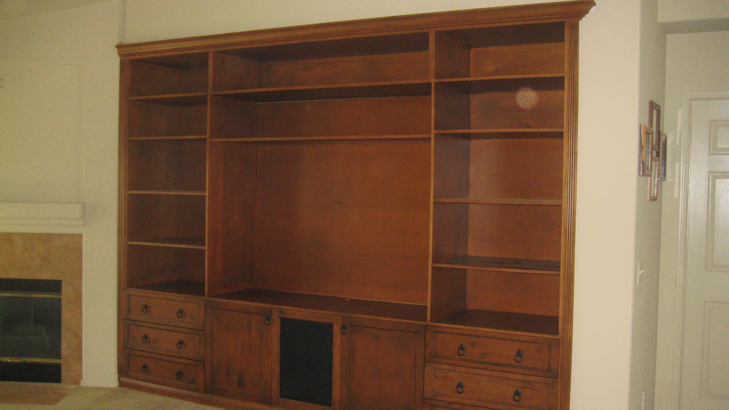 entertainment center manufacture