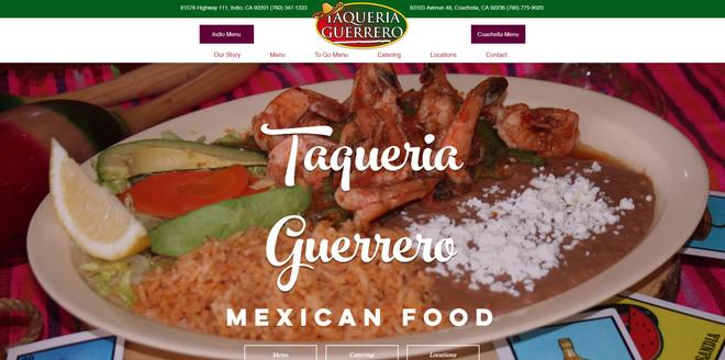 Taqueria Guerrero Website
