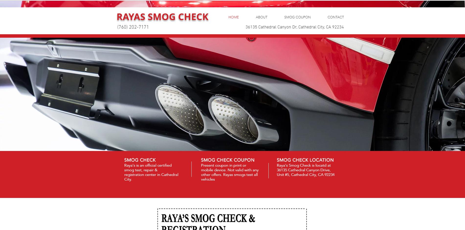 Raya's Smog Check