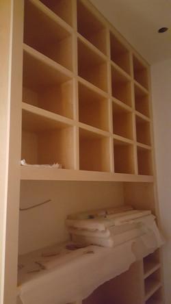 bookcase cabinet install