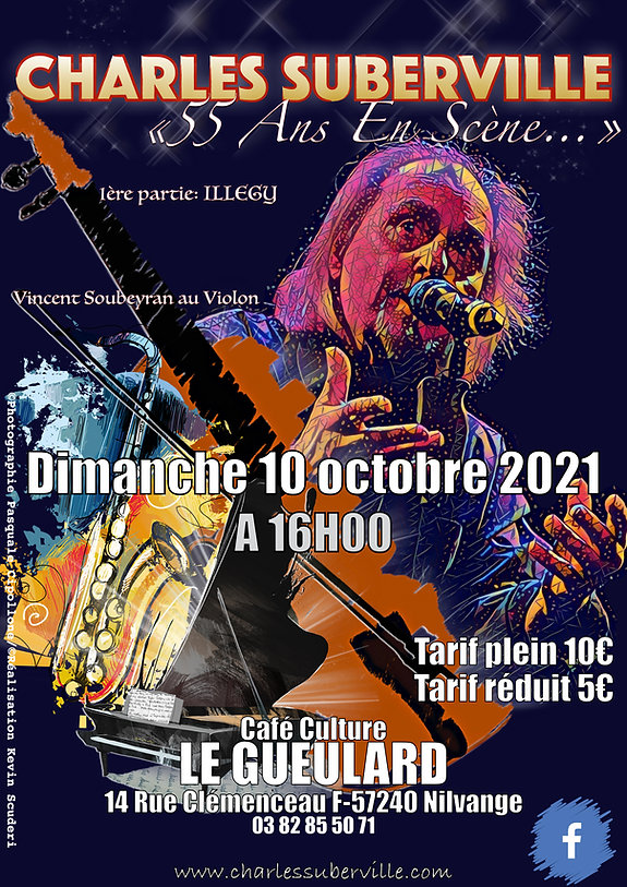 """Charles Suberville """"Le Gueulard"""" 2021"""