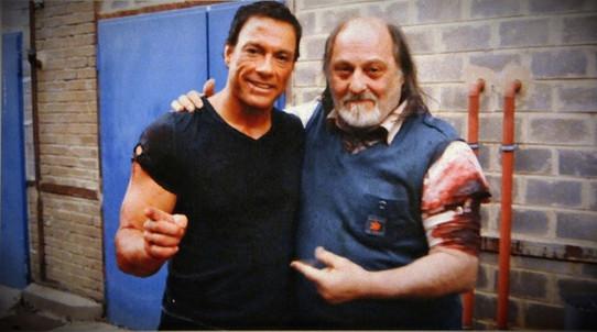 JCVD 2008 Jean-Claude Van Damme et Charles Suberville