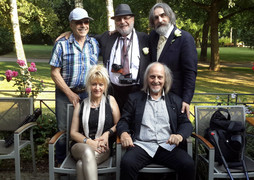 Charles Suberville avec Yuri Bondarenko, Antoine De Conti, Victor Loukianov et Sandra Wel
