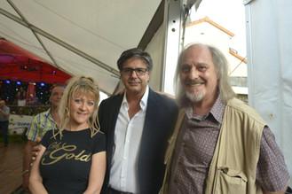 Charles Suberville avec Santo Barracato et Sandra Wel