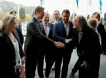 Grand Duc de Luxembourg, la Grande-Duchesse, Xavier Bettel et Charles Suberville