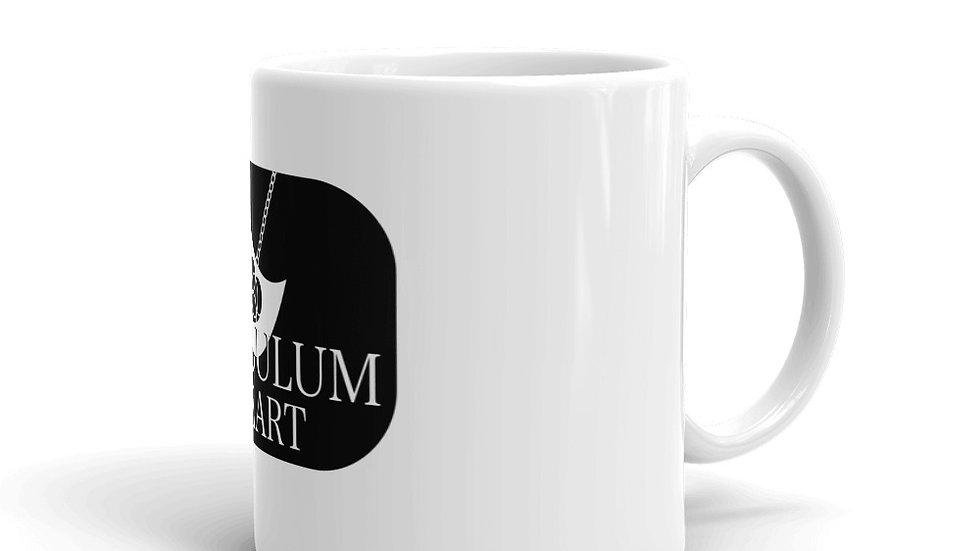 PH White glossy mug