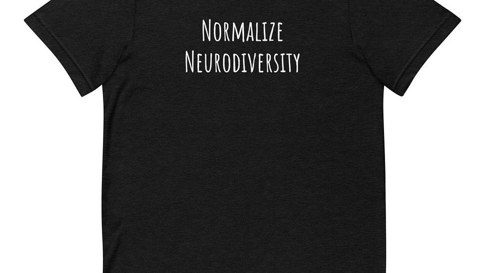Normalize Neurodiversity Short-Sleeve Unisex T-Shirt