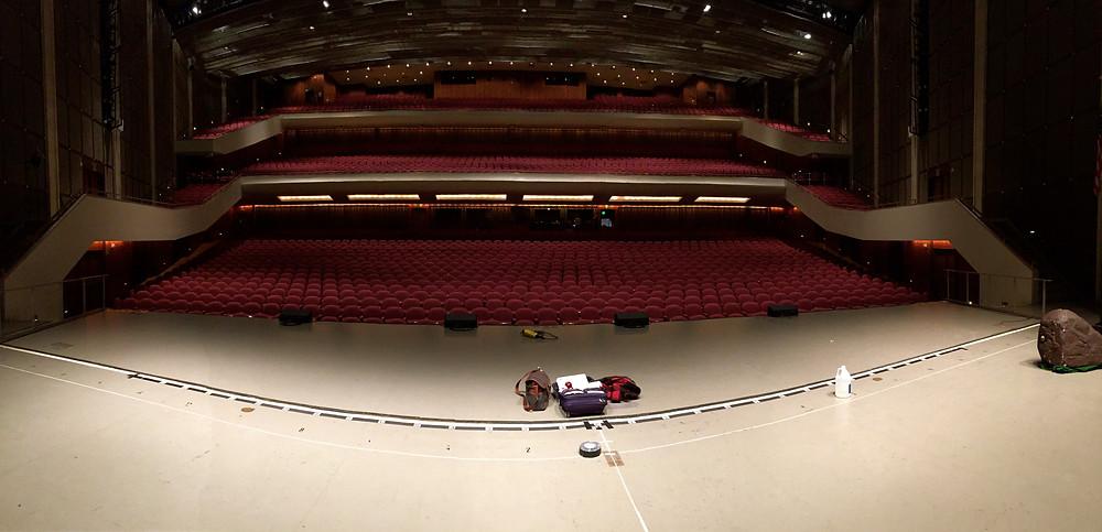 The Miller Auditorium in Kalamazoo, Michigan
