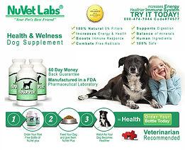 Nuvet Pomsky Puppy Suppliment