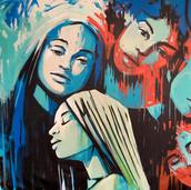 Alice Pasquini   Haze 273 x 210 cm Acrylic on canvas 2018