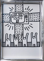 Keith Haring lithographs from Lucio Amelio's portfolio -Signed 1983-1985