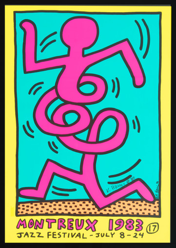 Keith Haring Montreaux  1983