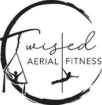 Twisted Aerial Fitness, LLC logo black.p