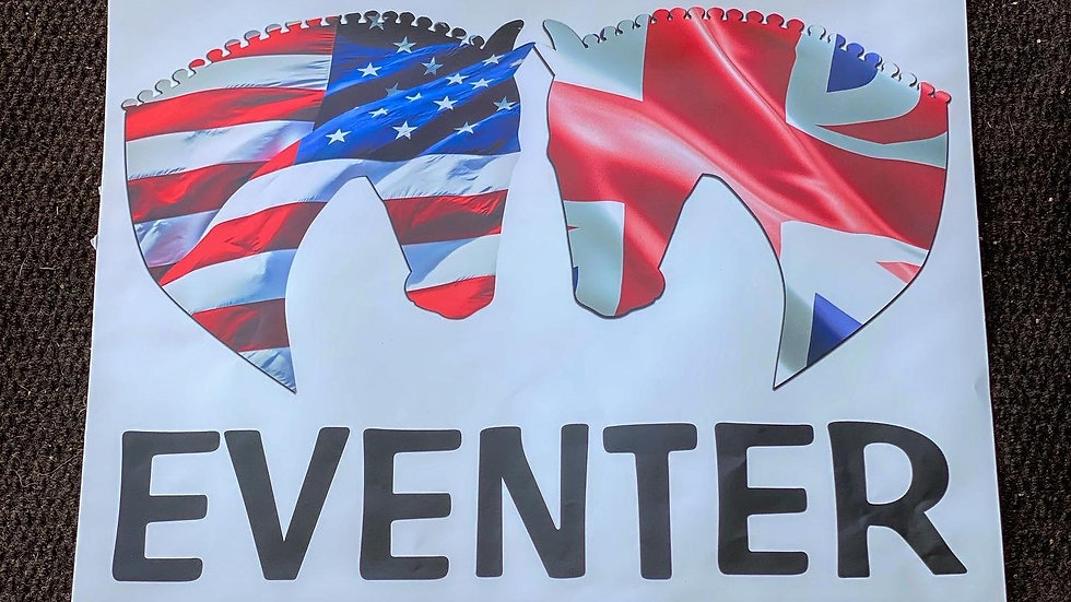 Eventer Trailer Sticker with Countries/States