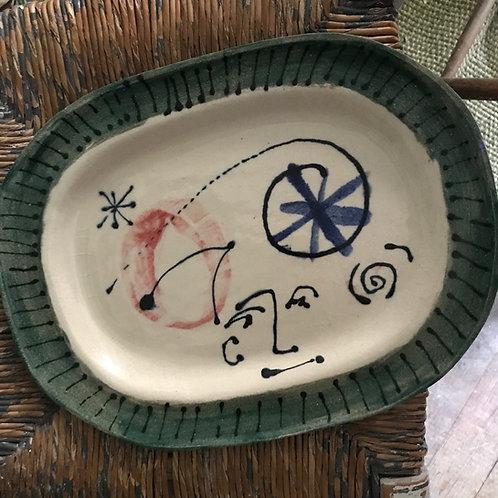 Miro inspired platter by Gavin Houghton