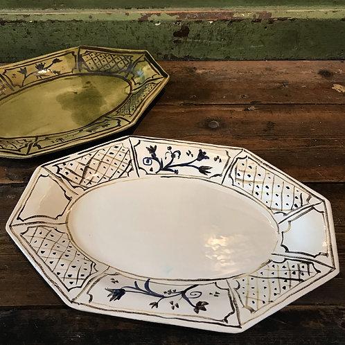 Octagonal platter