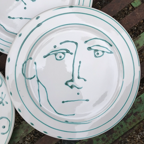 Mr Dot plates by me