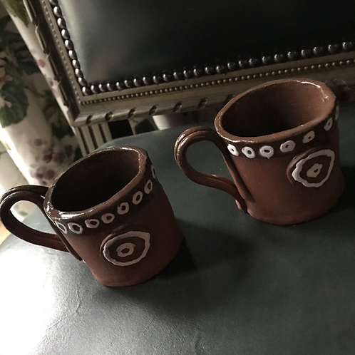 Pair of Roman expresso cups